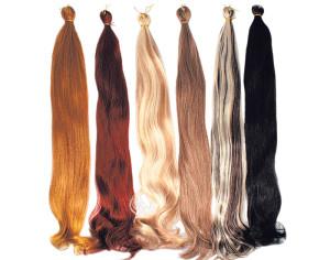 Как сделать искусственные волосы
