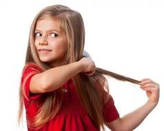 Как улучшить детские волосы