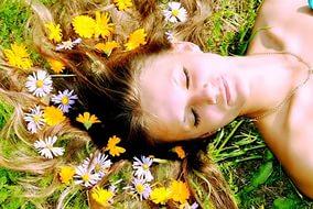 Лечение выпадения волос травами