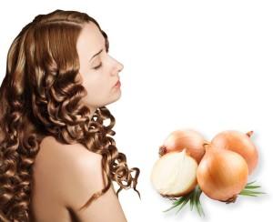 Луковая маска для волос с витамином А