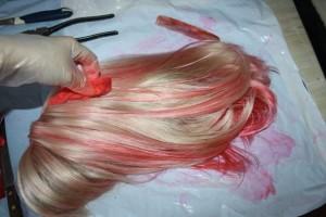 Можно ли красить парик из искусственных волос