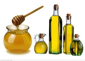 Репейное масло и мед