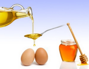 Маска для волос с коьяком, маслом и яйцом