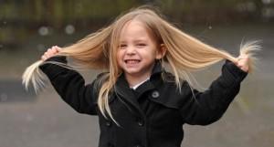 У ребёнка не растут волосы